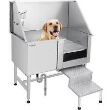 50 Dog Pet Grooming Bath Tub Wash Shower Sprayer Waterproof Stainless Steel