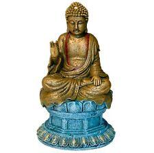 "BLUE RIBBON EXOTIC AQUA SMALL WONDERS BUDDHA ORNAMENT 6"" FREE SHIP IN USA"