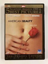 American Beauty (1999) Dvd Kevin Spacey Annette Bening Chris Cooper Mena Suvari