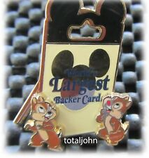 Trade City USA Disney Pin Celebration 2010 World's Largest Backer Card Chip Pin