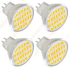 4X MR11 GU4 LED Bulbs Spotlight White 5730 SMD 20W Halogen Lamp Replacement 12V