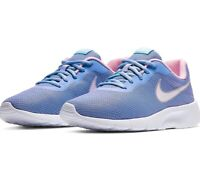 Nike Tanjun GS Youth Girl Athletic Sneakers Size 6.5Y Blue Pink Sport Shoes New