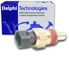 Delphi Coolant Temperature Sensor for 2000-2005 Pontiac Montana 3.4L V6 - ln