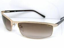 Police Stunning Cool Sunglasses S8741M 300R Gold Sport Lens Accessory New