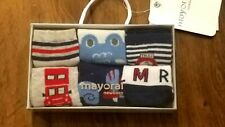 New Mayoral 6 pack of red/white/navy socks, 3 months, New in box