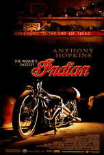 THE WORLD'S FASTEST INDIAN Movie POSTER 27x40 Anthony Hopkins Lana Antonova