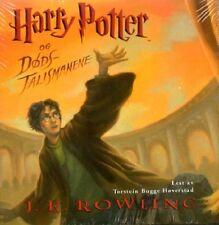 CD HÖRBUCH NORWEGISCH: Harry Potter og Dodstalismanene, NEU, 25 Stunden