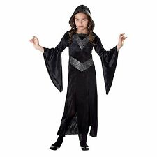 Girl's Black and Silver Sorceress Halloween Costume NEW Size X-Large Dress