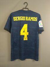Sergio Ramos Real Madrid Jersey 2019 Away M Shirt Adidas Football Fj3151 ig93