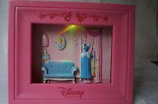 Vintage Disney Princess Cinderella 3D Wall Decor Frame Color-Changing Led Light
