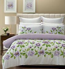 Art Deco Style Floral Cotton Blend Bedding Sets & Duvet Covers