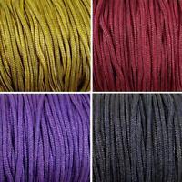 10m x 2mm Nylon Braided cord thread Many Colours Shamballa Knotted Bracelet (C)