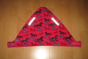 ♦️ JAKO-O Halstuch Schal Pferde One Size Klettverschluss sehr guter Zustand