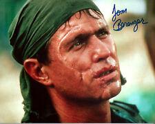 PLATOON Sgt Barnes TOM BERENGER signed photo!