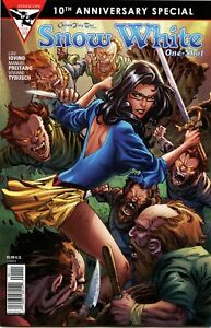 Grimm Fairy Tales Presents: Snow White One-Shot (A cover) Zenescope comic