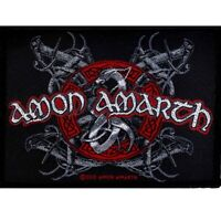Amon Amarth Viking Dog Patch Official Death Metal New