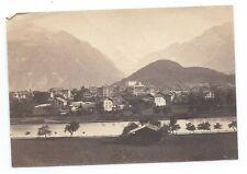 D003 Photographie vintage original Suisse 1873 Albuminé Albumen