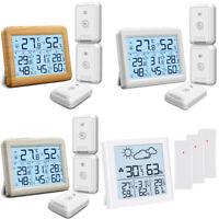 ORIA Innen-Thermometer Digital Hygrometer Luftfeuchtigkeit Messgerät Temperatur