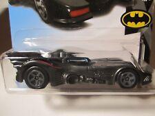 2018 Hot Wheels Batman Returns Batmobile Red Striped Keaton 50th Anniv. C Case.