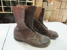 WWII Korea Jump Combat Boots Originals Russet Leather (10N) #2