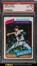 1980 Topps Nolan Ryan #580 PSA 8 NM-MT