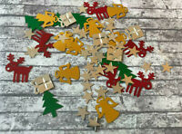 Christmas Table Confetti Decoration Sprinkles Party Holiday Reindeer Tree Stars