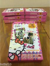 Instax Film Stickers HELLO KITTY 10pcs Polaroid For FujiFilm Mini 8 7S 25 50S