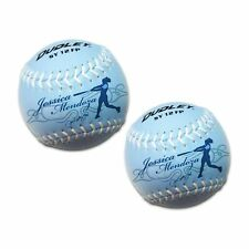 Dudley Softie Practice Fast Pitch Softballs 12 Inch (Pack of 2 Fastpitch Soft.