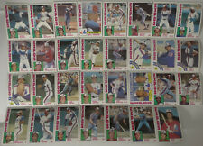 1984 Topps Montreal Expos Team Set of 31 Baseball Cards