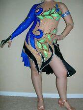 REDUCED Latin ballroom cha cha salsa competition dress