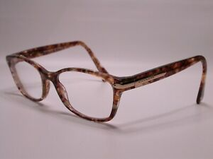 Authentic Coach Confetti Gold Designer Tortoise Eyeglasses Fashion Frames