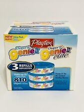 new Playtex Diaper Genie II Refill Pack of 3
