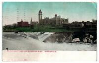 1911 St. Anthony Falls and Exposition Building, Minneapolis, MN Postcard