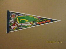Peoria Chiefs O'Brien Field Vintage 2002 Logo Pennant