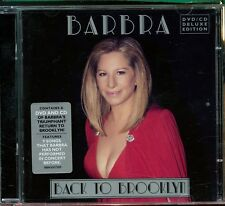 Barbra Streisand / Back To Brooklyn (CD + DVD) - 2CD - MINT