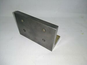 South Bend Production Angle Plate For Milling Machine - Angle Iron