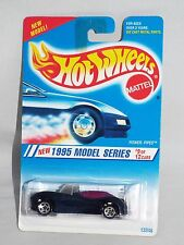 Hot Wheels 1995 Model Series #9 Power Pipes #349 Dark Blue w/ 5SPs