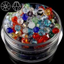 1000pcs Austria Crystal 3mm bicone beads #5301 U pick colors
