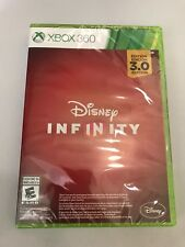 Disney Infinity 3.0 Video Game Disc Xbox 360 Sealed New Collectible Rare