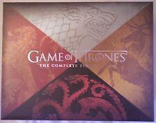 Game of Thrones: Season 1 Collectors Edition (Blu-ray/DVD, 2012 8-Disc Set)