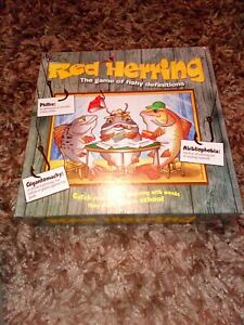 Red Herrings Board Game By University Games Complete 2016 FREEPOST XMAS