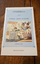 Cinderella or the Little Glass Slipper 1977 Scholar Press Book Printed England
