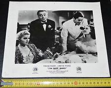 PHOTO CINEMA 20 th CENTURY FOX 1937 J'AI 2 MARIS TYRONE POWER LORETTA YOUNG