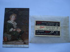 "CWW1 VINTAGE PEARS SOAP MATCHLESS FOR THE COMPLEXION ""BUBBLES"" SMALL ADV JIGSAW"