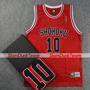SLAM DUNK Costume Shohoku School Basketball Team #10 Sakuragi Swingman Jersey R