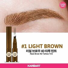 Cathy Doll Real Brow 4D Tattoo Tint Tip Magic Pen Eyebrow Quick Dry Brown Color