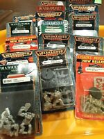 Warhammer 40k Space Orks Orks Lot  OOP Metal New  Citadel NIB Rare Blister LOT