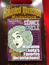 Disney 2010 Haunted Mansion Magazine Pin Seance Circle Madame Leota #74585