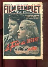 FILM COMPLET N°147: LA FURIE DU DESERT/ à COR ET à CRI 1949.