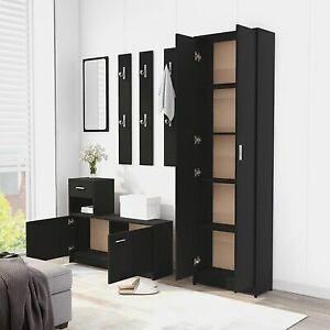 Tall Kitchen Larder Cupboard Storage Pantry Freestanding Utility Cabinet Slim